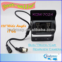 IP66 120 Degree Wide Angle Truck Rear View Camera System with Mirror Image for Reversing (Backing-up)