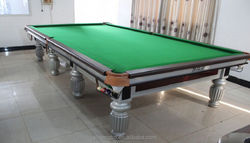 Factory price MDF snooker pool table with accessories for inflatable pool table