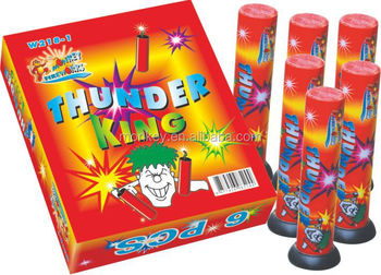 Thunder king firecracker fireworks single shot