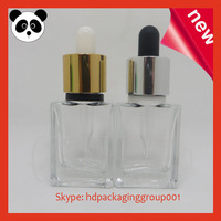 China manufacturer heavy e liquid dropper bottles 15ml e-cig oil glass dropper bottle clear e liquid dropper bottles