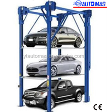 Smart car stacker carousel parking system PSH6D-3 with certification