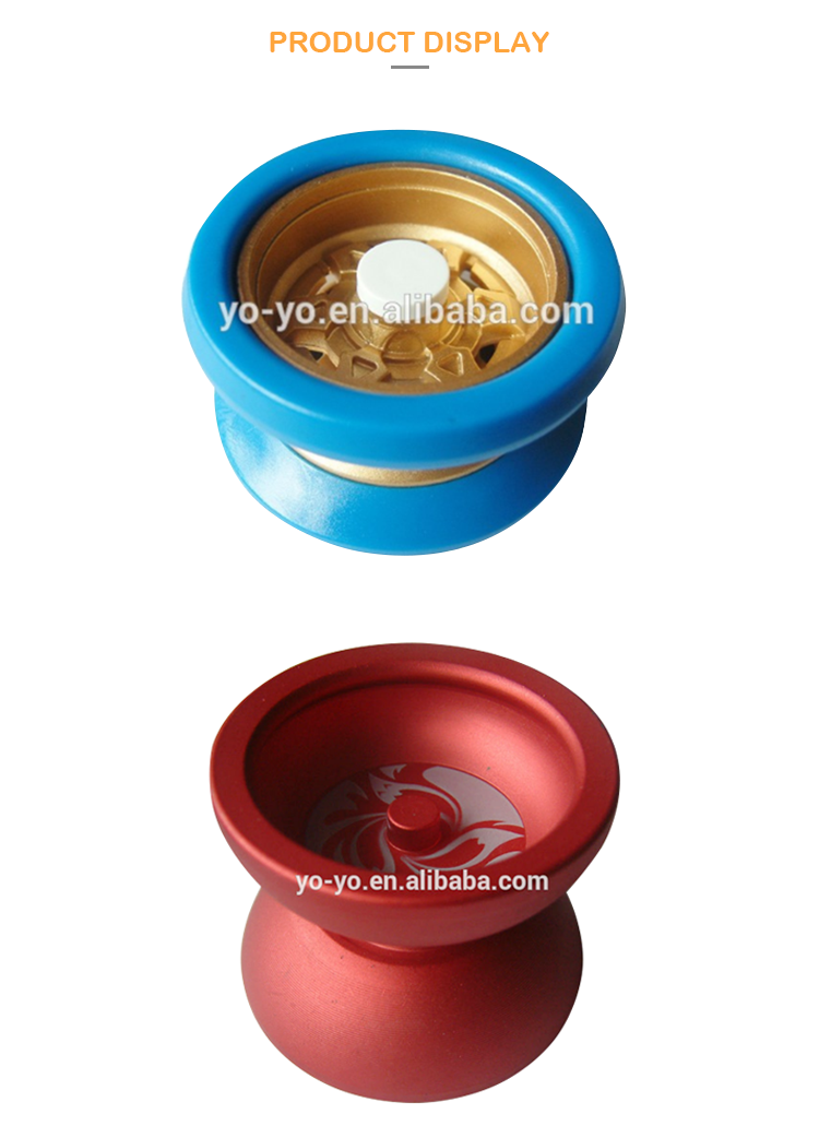 HY1101 2017 professional yoyo modern toys for children cheap metal small toy
