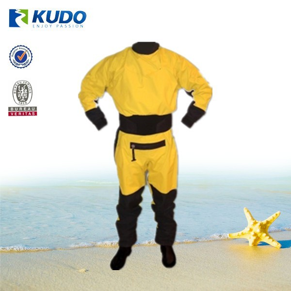 High Quality Import Material 100% Nylon Dry Suit OEM Production Kayak Dry suit