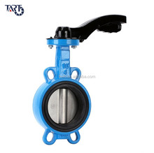 "1"" 1 inch cast iron wafer type butterfly valve"