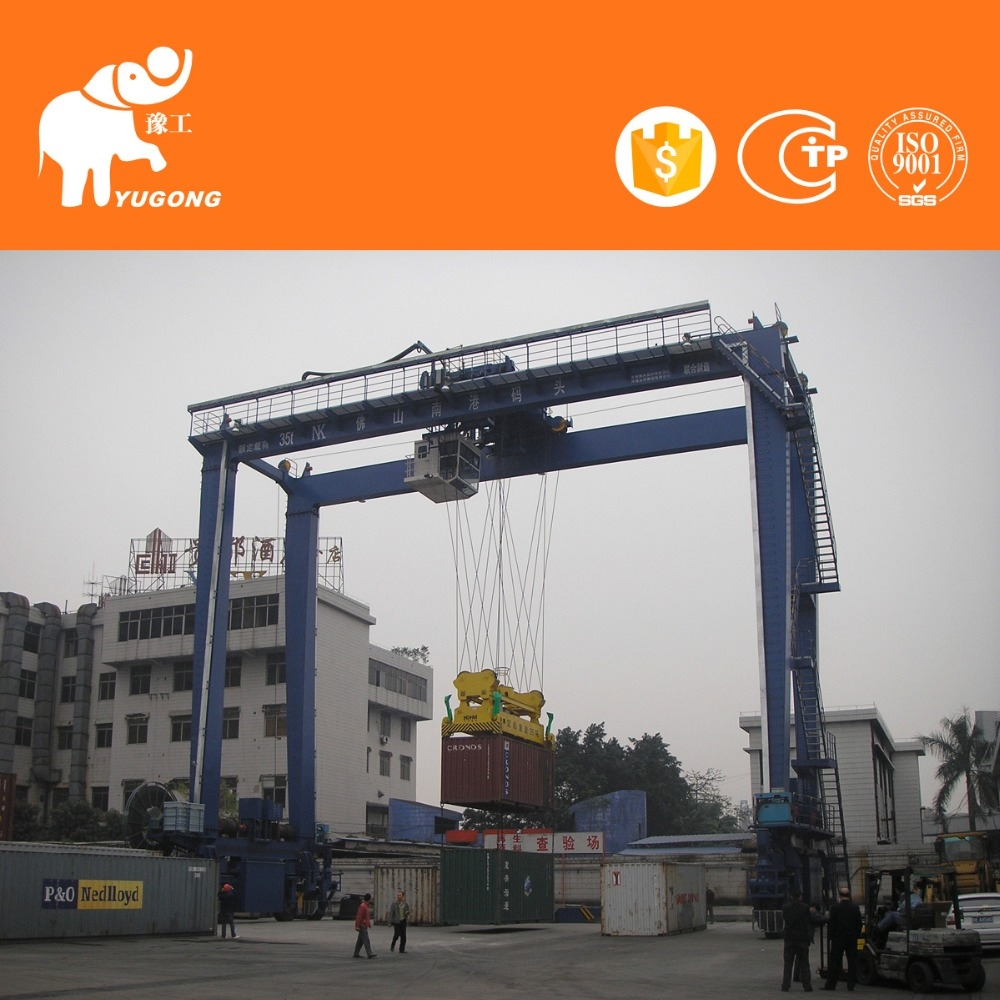 Manufactures for 80 ton gantry crane with good service