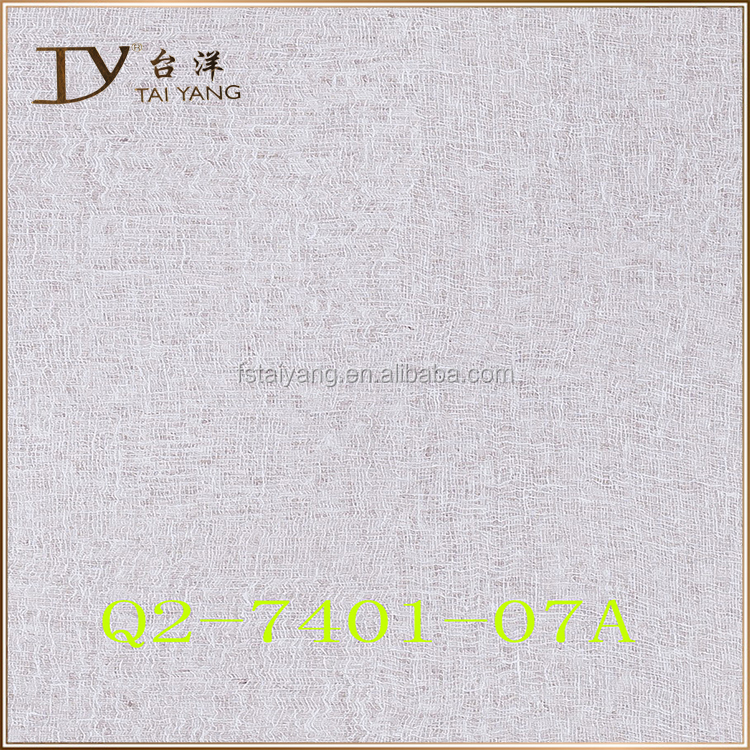 3D embossed durable Vinyl wallpaper for home decoration Q2-7401-07A