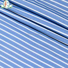 Blue and White Warp Knitted Fabric for Swimwear or Sportswear