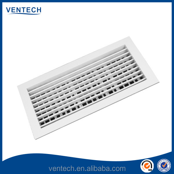 Double Deflection Grille : Aluminium double deflection air grille high ceiling