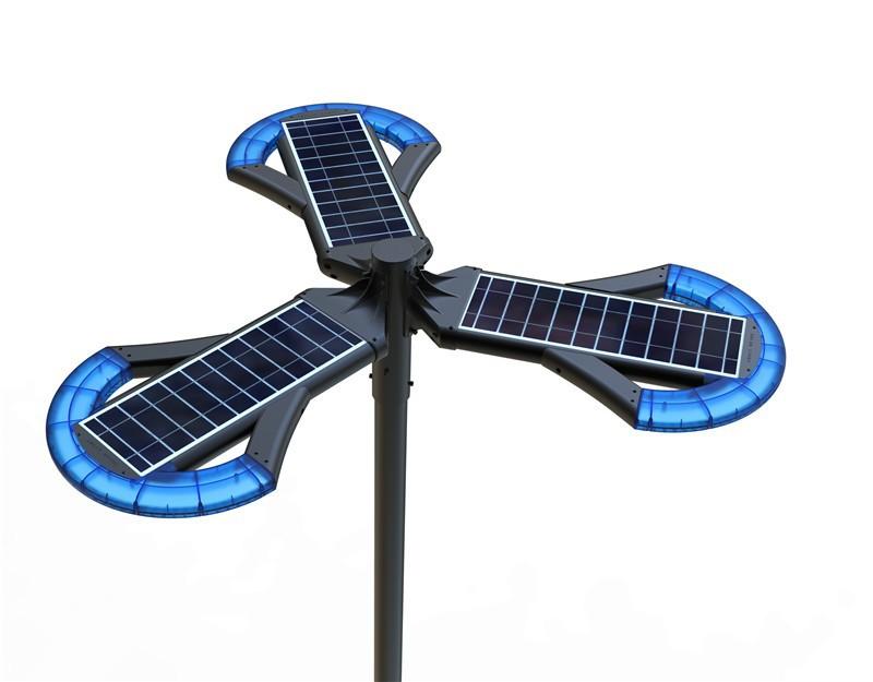 Pole Mount Decorative Outdoor Solar Lights Led Tall Light