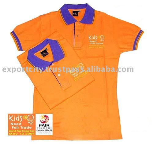 Polo shirts T-shirts giveaway, promotion, gifts, advertising