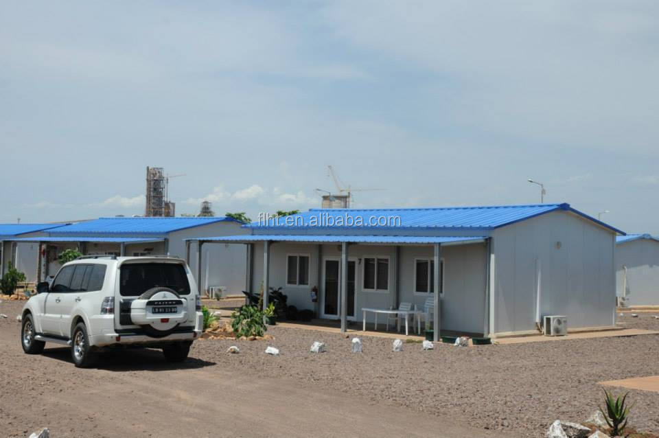 Cheap Prefabricated House for Labor Camp in Remote Area