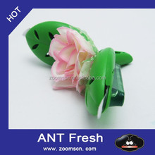 China product flower shape car vent clip membrane air freshener new product