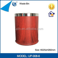 PP Plastic color coded garbage trash bin for five star hotel guestroom/household,OK-008