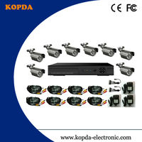 8ch h.264 cctv dvr kits,sony 420tvl,8pcs ir waterproof camera
