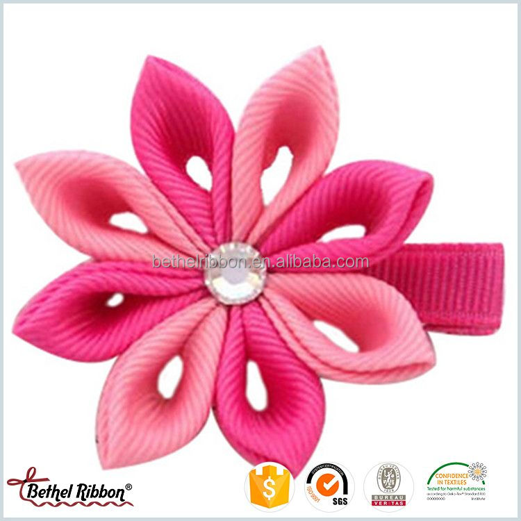 Newest best sell ribbon art hair clip