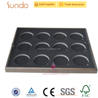 wooden coin display tray for 8 coins