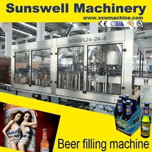 Aluminum Can/PET Can Filling Machine for beer/Soda