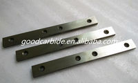 Cutting tool blank tungsten carbide flats with holes
