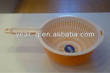 plastic washing basket
