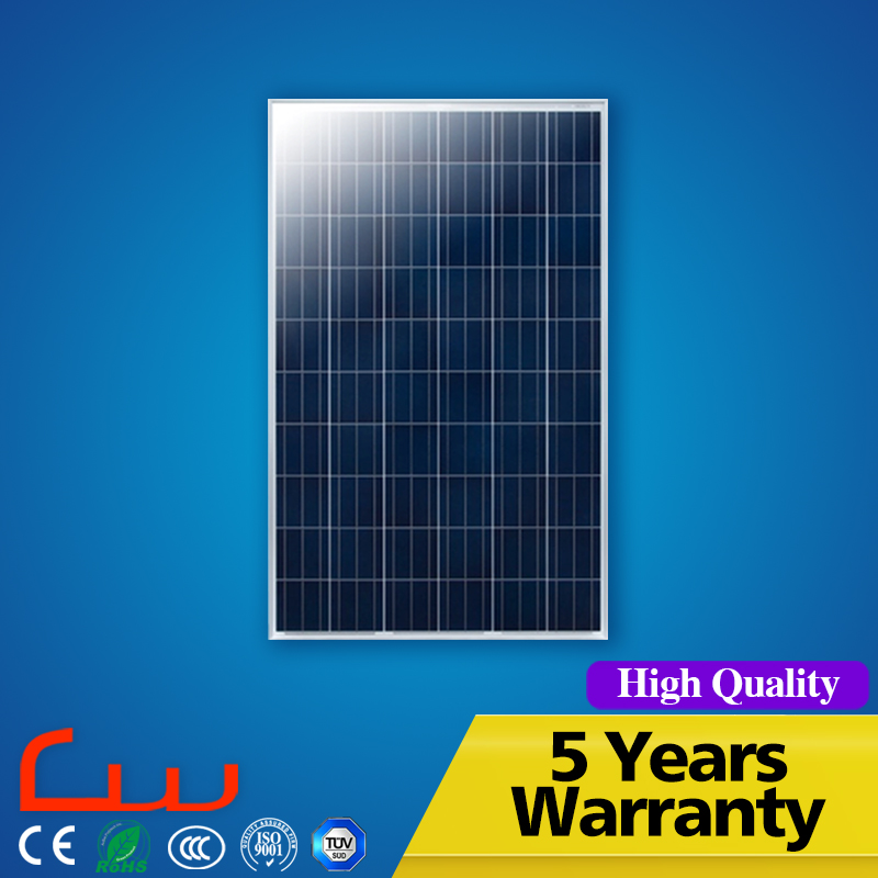 Polycrystalline silicon 220W pv solar panel price