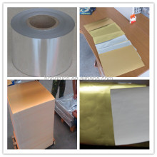 Gold Aluminum Foil Laminated Paper for Cigarette Packing