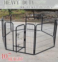 Large Dog Run Chain Link Animal Cage/Portable Garden Dog Fence Panel