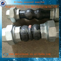 double phere rubber hose flexible pipe connector