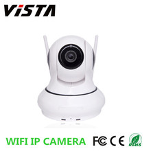 1.0mp HD Wifi PTZ IP Camera Two Way Audio Baby Webcam with Mobile Remote Control