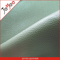 new grain PVC leather for Sofa and home textile,fashion surface metallic pvc leather