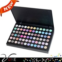 Cosmetics products,all shimmer,high pigment 72 color eyeshdow