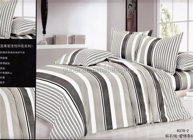 2014 New Design Plain Bedding Set for All Hotel Linen Size