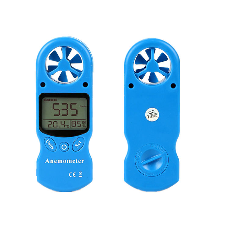 2018 new products 8 in 1 industrial anemometer