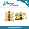 Decorative hardware for packaging boxes clasps and hinges BI301 and BL204
