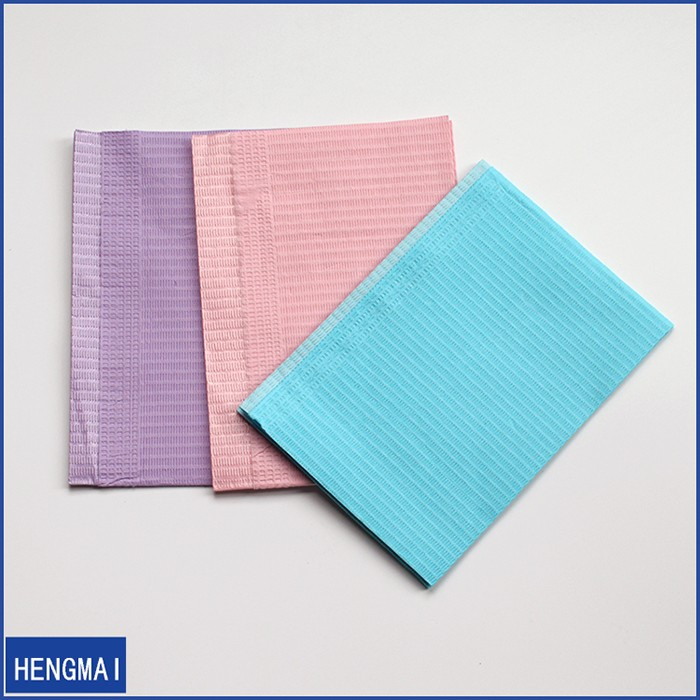 Free Sample Dispoable Dental Bibs/ Disposable Dental Patient Towel/Paper Bib