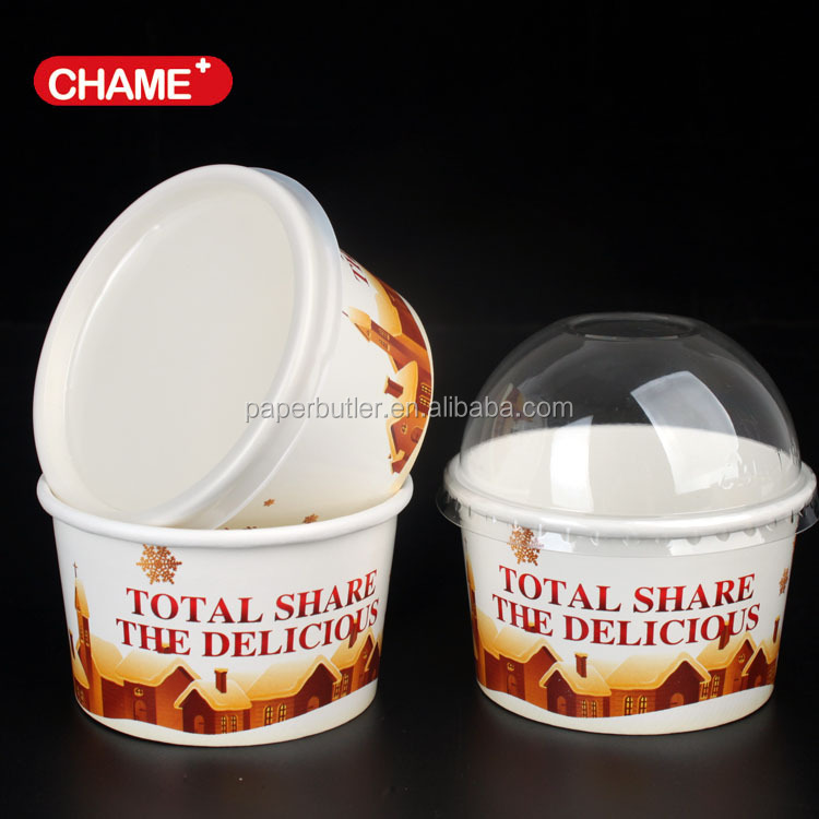 Custom Printed Ice Cream Paper,Single Wall Print ice cream Paper Cups,Market Paper Cup ice cream