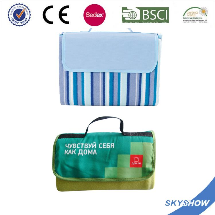 Promotion Personalized supreme quality waterproof outdoor beach picnic blanket
