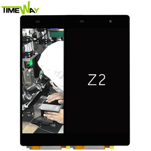 2017 replacement for sony z2 l50t lcd, D6502 D6503 D6545 for sony xperia z2 lcd, lcd monitor digitizer assembly for sony z2