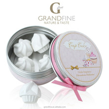 premium corporate gift set for home scented ice cream plaster in round tin box