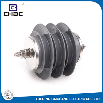 CHBC Hot Sale Polymeric Housed Protection 9KV10KA Class 3 Surge Lightning Arrester