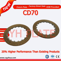 China Cheap C70 Clutch Plate, Good Quality CD70 Clutch Plate, Factory Direct Sale Motorcycle Spare Parts