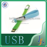 Custom Plastic Wristband USB Flash Drive