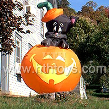 2015 Newest and funny halloween pumpkin inflatable