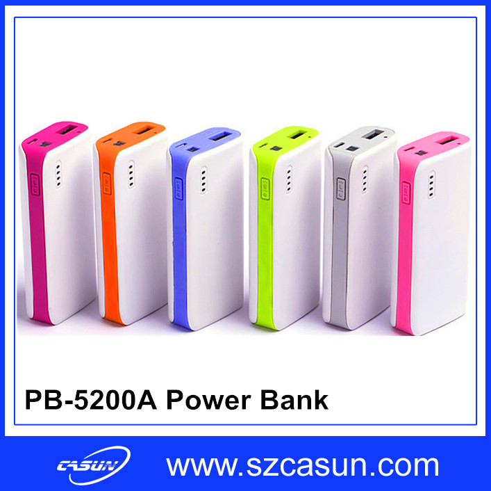 5200MAH Small Quick Cell Phone Charger