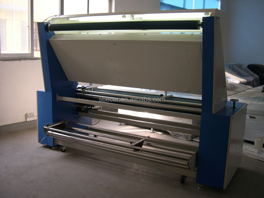 FIA-1800 Automatic cloth inspection and winding table/fabric inspection machine