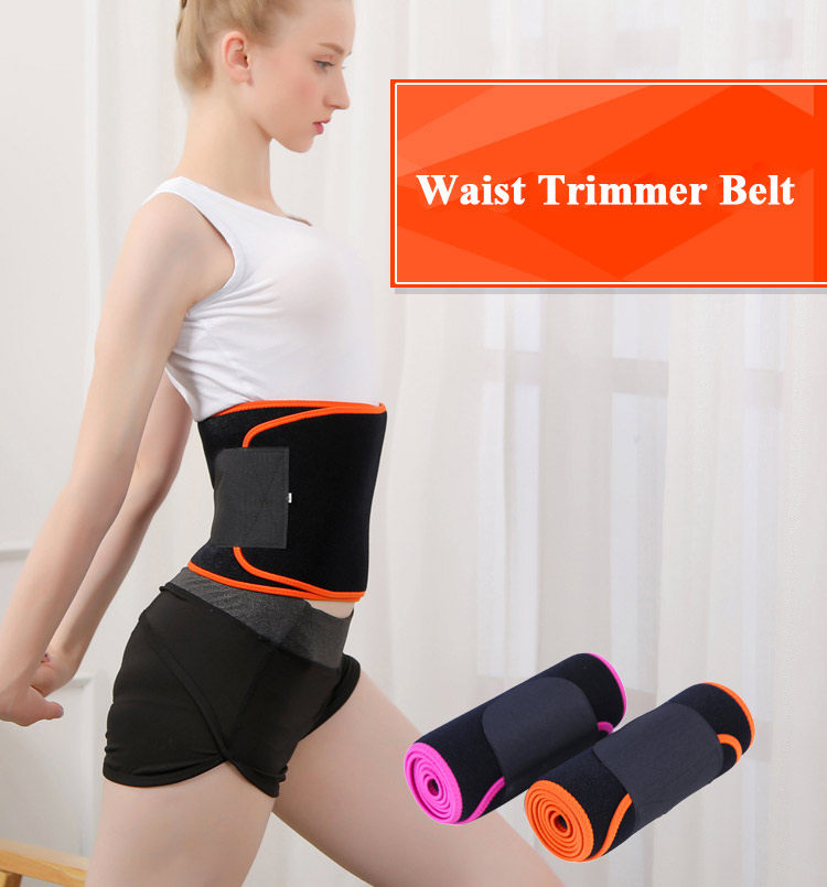ZHIZIN Beautiful design wholesale waist trimmer private custom belt