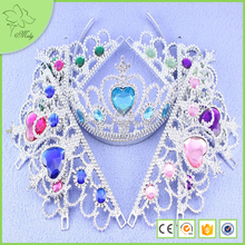 Hair Accessories Tiara for Kids Metal Crown Tiaras Cheap Plastic Crystal Tiara Crown Acrylic