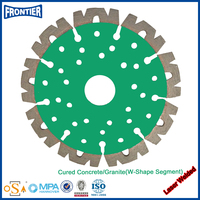 Long service life useful walk behind concrete saw blade