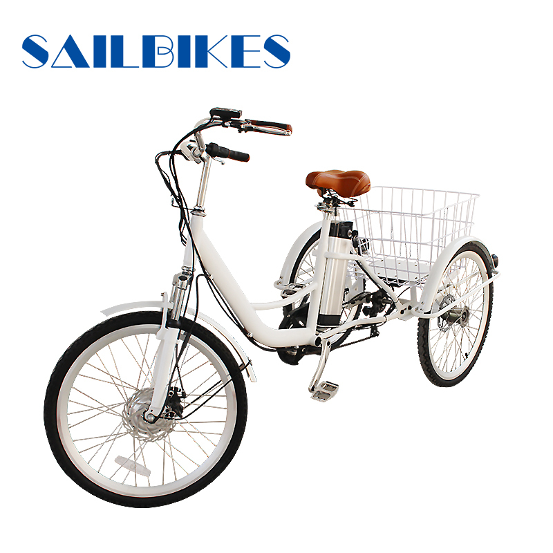 Wholesale High Quality Three Wheel Electric Adult Tricycle