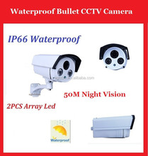 sony ccd 600TVL ir-iii business security cctv bullet cameras with 50M night vision