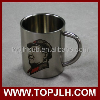 High quality Blank stainless mug for sublimation, mugs stainless steel